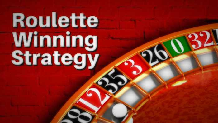 roulette win strategy