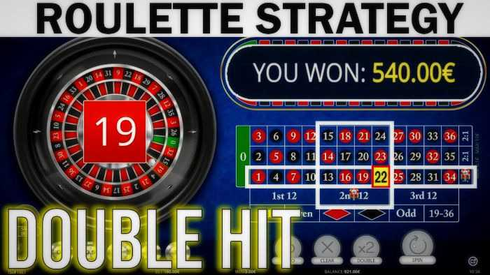 Doubling System roulette